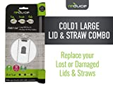 REDUCE Replacement Tumbler Lid and Straw Combo