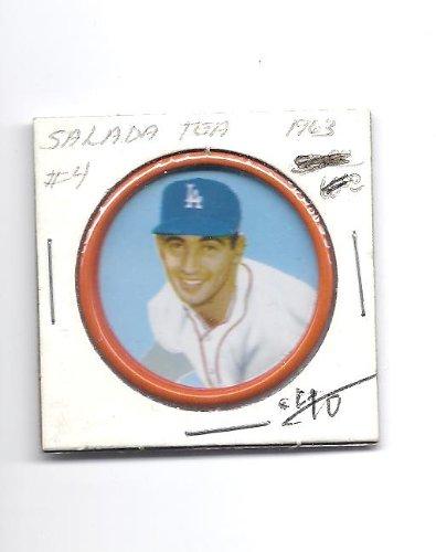 SANDY KOUFAX 1963 Salada Junket #4 Coin  - Salada Baseball Coins Shopping Results