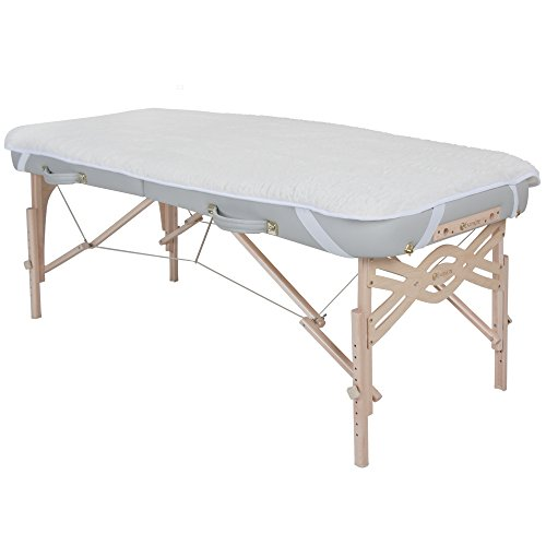 - EARTHLITE Massage Table Fleece Pad – 1/2