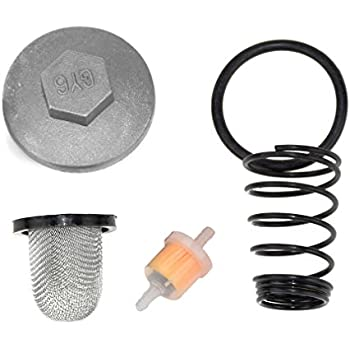 Amazon com: Scooter Oil Filter Drain Plug Set Kit fit for