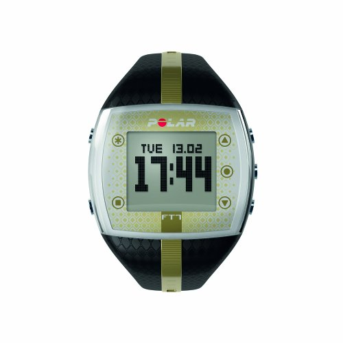 Polar FT7 Women's Heart Rate Monitor Watch (Black / Gold) ()