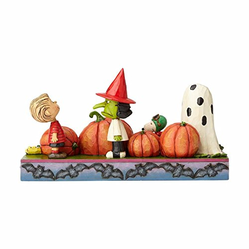 Enesco, Peanuts by Jim Shore At the Pumpkin Patch (Art Halloween)