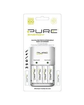 Pure Energy - Pure Energy Cargador+4 Aa+2 Aaa Pilas ...