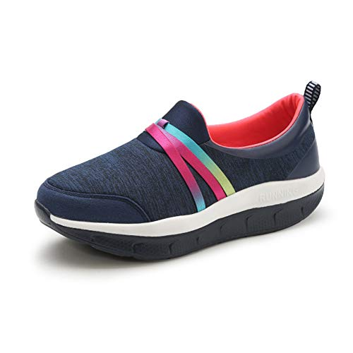 DETAIWIN Women Swing Canvas Shoes Fitness Slimming, used for sale  Delivered anywhere in USA