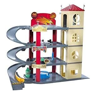 Amazon Com Disney Pixar Cars Ultimate Piston Cup Garage