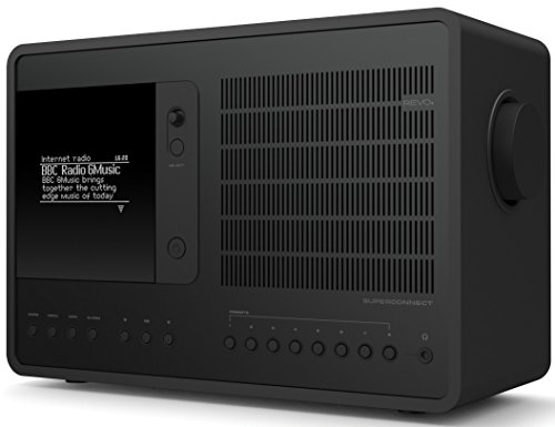 Revo SuperConnect Multi Format Deluxe Table Radio -