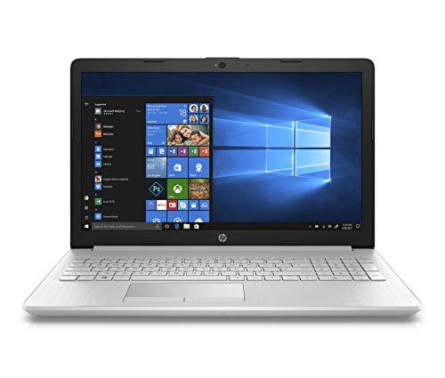 HP 15 db1059au 15.6″ (39.62cms) Laptop (Ryzen 3 3200U/4GB/1TB HDD/Win 10/MS Office 2019/AMD Radeon Vega 3 Graphics), Natural Silver