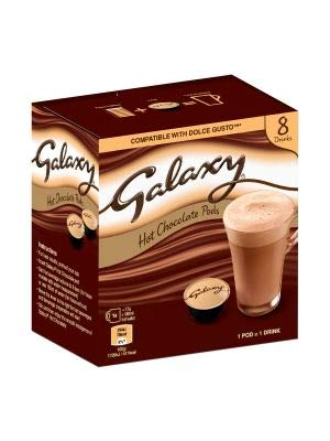 Galaxy Hot Chocolate Dolce Gusto Compatible Pods Bulk Box 80 Pods
