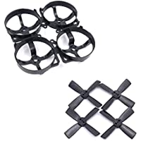 Mini DIY F80mm F80 Racing Drone 80mm Plastic Frame KIT W/ 1935 Proppeller for 1104 motor PIKO F3 mini FC