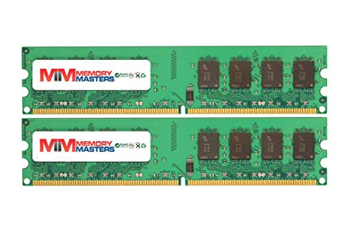 MemoryMasters 8GB (2x4GB) DDR2-667MHz PC2-5300 Non-ECC UDIMM 2Rx8 1.8V Unbuffered Memory for Desktop PC