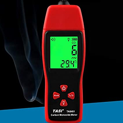 Huihuiya TA8401 Detector de Advertencia de Alarma del Sensor de envenenamiento por monóxido de Carbono,