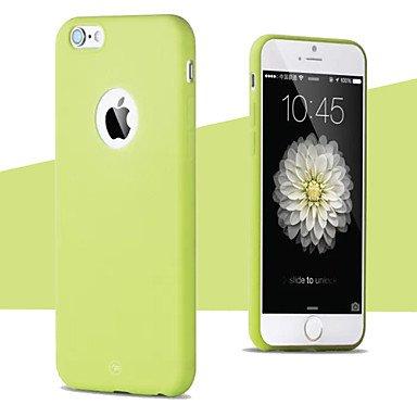 Fundas y estuches para teléfonos móviles, Aberturas de color fruta caja del teléfono del tpu delgada para el iphone 6 (colores surtidos) ( Color : Rosa , Modelos Compatibles : IPhone 8 ) Rojo