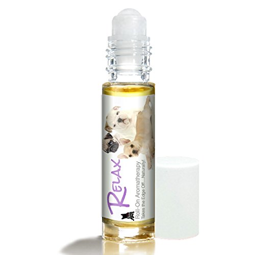 Grape Carrier (The Blissful Dog Three Cute Puppies Relax Roll-On Aromatherapy for Your Dog's Anxiety)