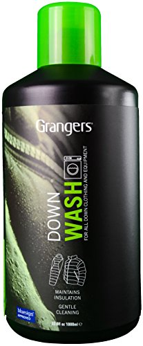 (Grangers Down Wash /  Ultimate High Performance Cleaner for Down Outerwear & Sleeping Bags / 1ltr )
