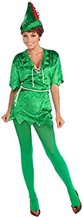 forum novelties women 39 s peter pan costume. Black Bedroom Furniture Sets. Home Design Ideas