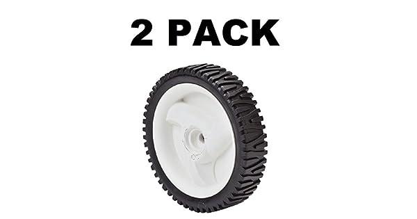 Amazon.com: Juego de 2 ruedas de tracción fitsfor Craftsman ...