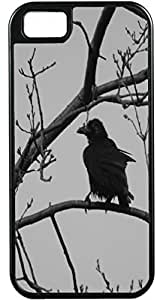 iPhone 4 Case iPhone 4S Case Cases Customized Gifts Cover black Crow - Ideal Gift