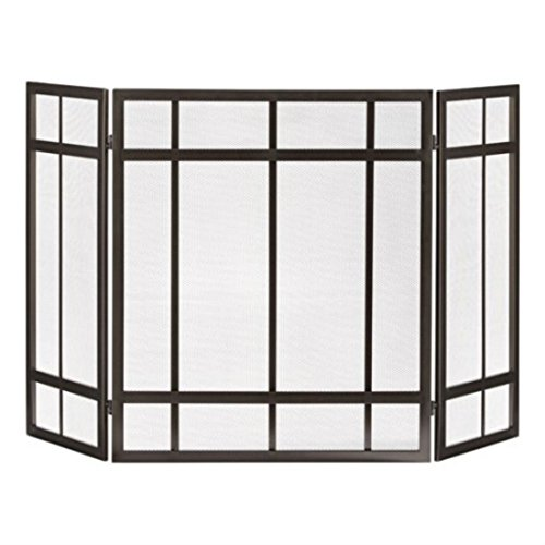 Pleasant Hearth 3-Panel Mission Style Fireplace Screen Hottest Items Now