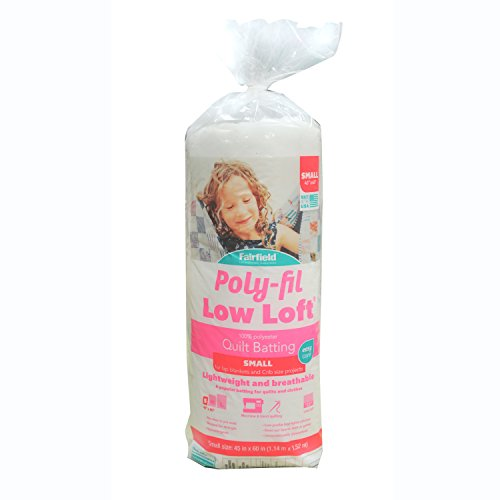 - Low-Loft Bonded Polyester Batting-Crib Size 45