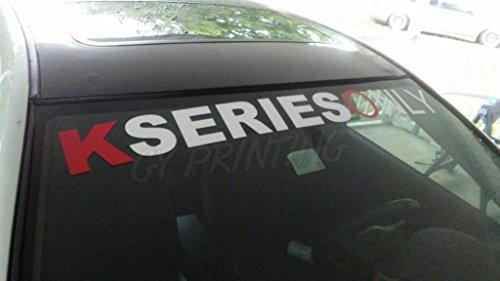 honda kseriesonly windshield windows decals cars stickers banners jdm graphics die cut vinyl