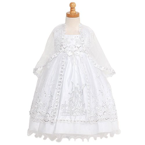 White Angels Embroidered Dress - 2