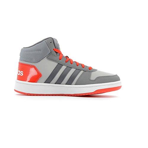adidas Vs Hoops Mid 2.0, Zapatillas Altas Unisex Niños Gris (Gridos/Gricin/Roalre 000)
