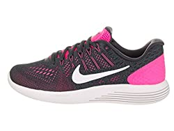 Nike Lunarglide 8 Pink Blastanthracitecool Greysummit White Womens Running Shoes