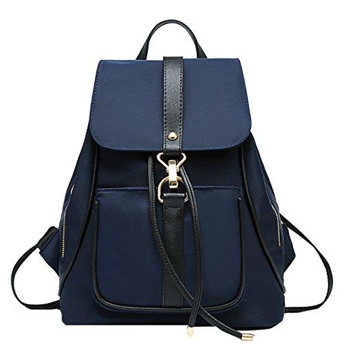 Fashion Bag Wallet Camera - Holly Store Nylon Waterproof Backpack Leisure Shoulder Bag Travel Bag Blue