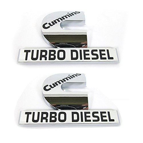 cummins turbo diesel badge - 2