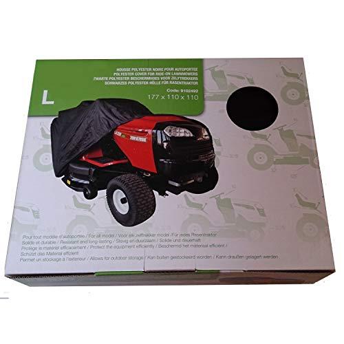 Funda protectora para tractor cortacésped de descarga lateral del ...