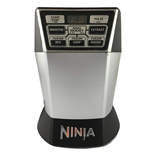 Original Nutri Ninja Blender NN101 Motor Base with Auto-iQ Boost (7 Fin) 1200-Watt 1.6 Horsepower For Nutri Bowl Duo Substitute For NN100 NN100A NN102 Home Kitchen Appliance (Certified Refurbished) (Duo Iq With Ninja Auto)