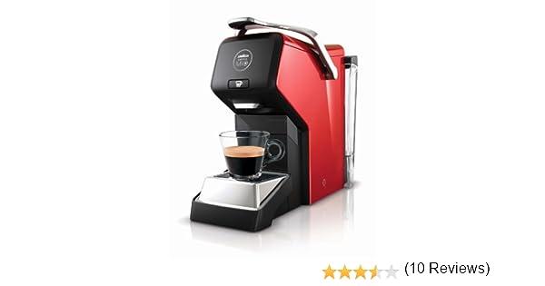 Lavazza A Modo Mio - Cafetera de cápsulas, 1200 W, color rojo ...