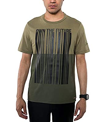 Sean John Men's Own The Future T-Shirt. Own (4XB, Spanish Olive)
