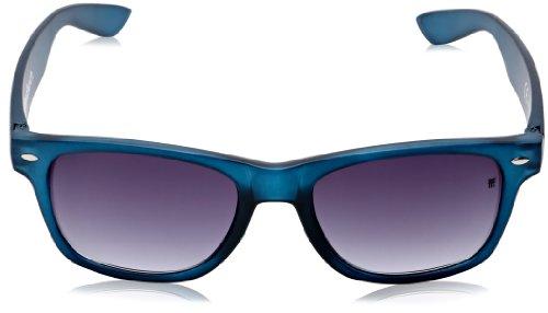 RETRO Blue FENCHURCH Soleil Lunettes Matt PLASTIC de Homme Bleu 8IrZ8w