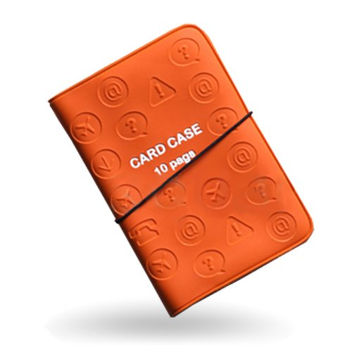Square business card holder amazon m square card stock commercial swift card case card holder orange one size colourmoves