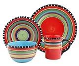 Simplemente Delicioso Pueblo Springs 16-pc. Dinnerware Set