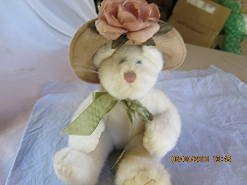 Boyds Bears Plush LOLA NINELIVES 919751 Cat Archive Kitty Hat Rose