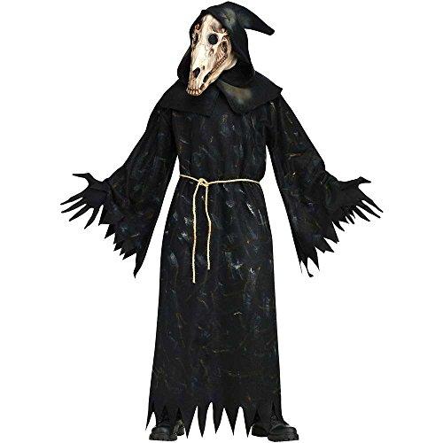 Horse Skull Demon Costume - Standard - Chest Size 33-45 (Demon Horse Costume)