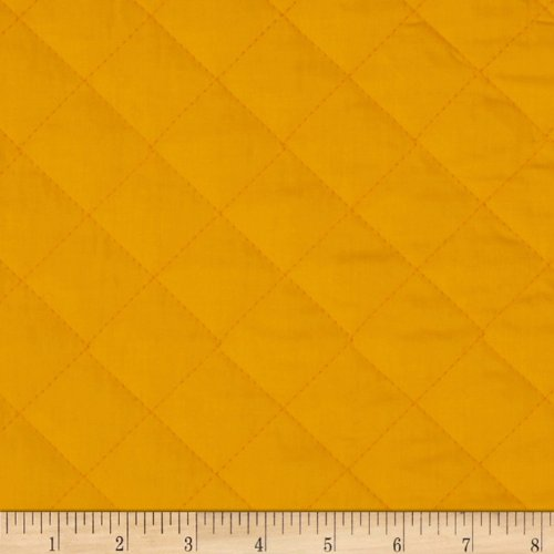 Double Sided Quilted Broadcloth Canary Fabric By The - By The Pre-quilted Fabric Yard