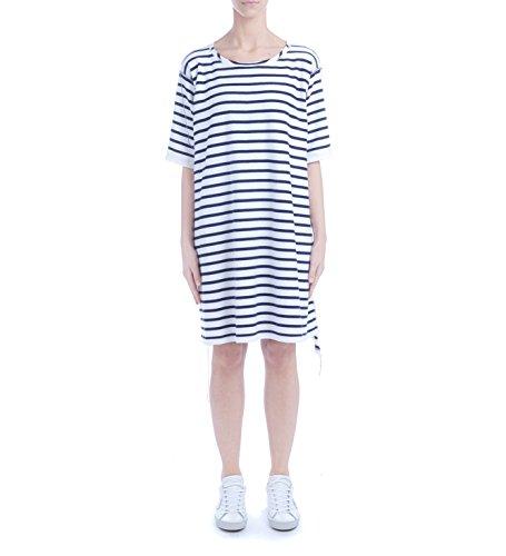MM6 Kleid Blue blau gestreift weiß Maison in Margiela und rE7ywrZvq