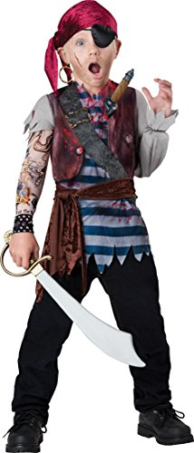 InCharacter Costumes Dead Man's Chest Costume, Size 6/Small
