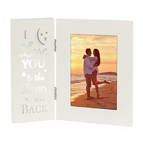 Ouchan Baby Picture Frames 4x6 Inch Light Up Photo Frame Collage ...