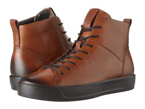 ECCO(エコー) メンズ 男性用 シューズ 靴 スニーカー 運動靴 Soft 8 Street High - Lion [並行輸入品] B07BDGVHJW