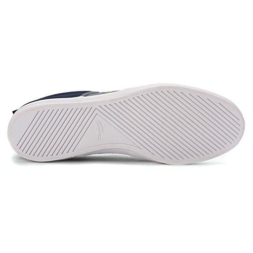 27f2093e365039 Lacoste Men s Gazon Sport Sep Spm Canvas Dark Blue   Grey Ankle-High  Fashion Sneaker - 7.5M - Buy Online in Oman.
