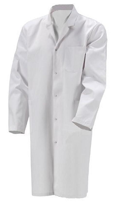 Bata de Laboratorio Niños Bata algodón Blanco Pintor Abrigo niños Weiß 116