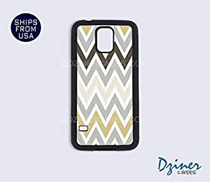 Galaxy S3 Case - Chocolate Grey Chevron