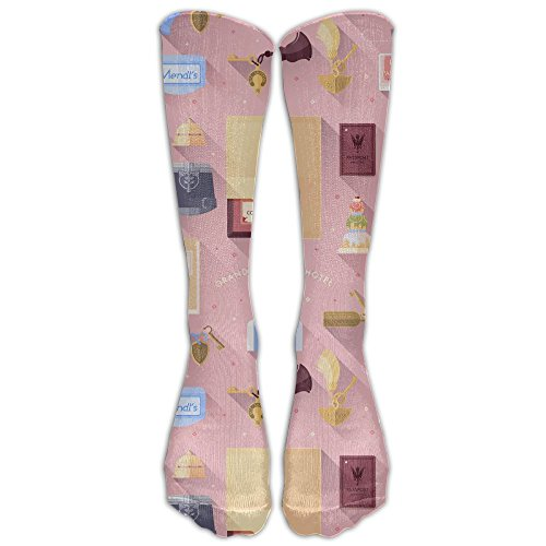 Mp3 Sock (Grand Budapest Hotel 1 Pair Over-The-Calf Socks Cosplay Socks Knee High Lightweight Ribbed Dress Stockings)