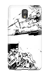 Ysjaiad2385IBvHW Case Cover Star Wars Empire Strikes Back Galaxy Note 3 Protective Case