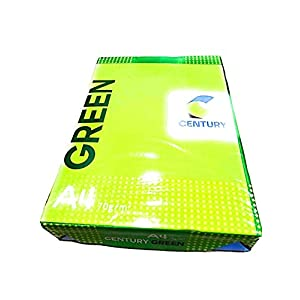 Century Green 70 GSM 1 Reams Copier Paper Quality, A4 Size (White) - Pack of 500 Sheets
