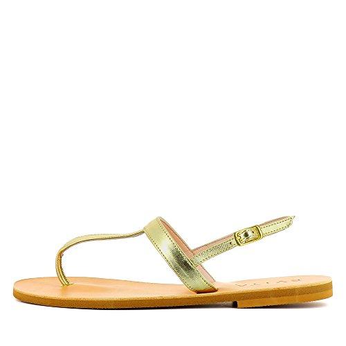 Evita Shoes Greta - Sandalias de vestir de Piel para mujer dorado